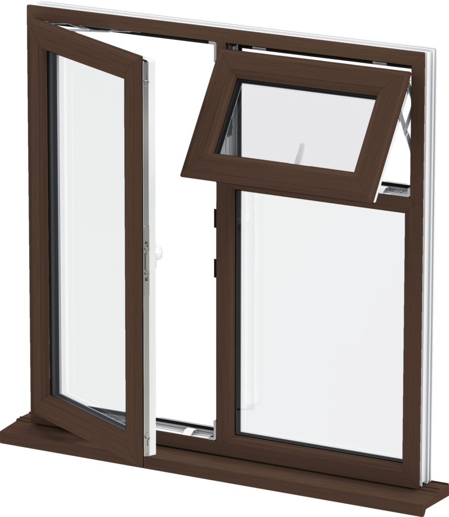 Casement windows luton double glazing upvc windows for Double casement windows