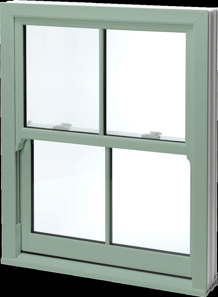 X  Glass Sliding Window Cream